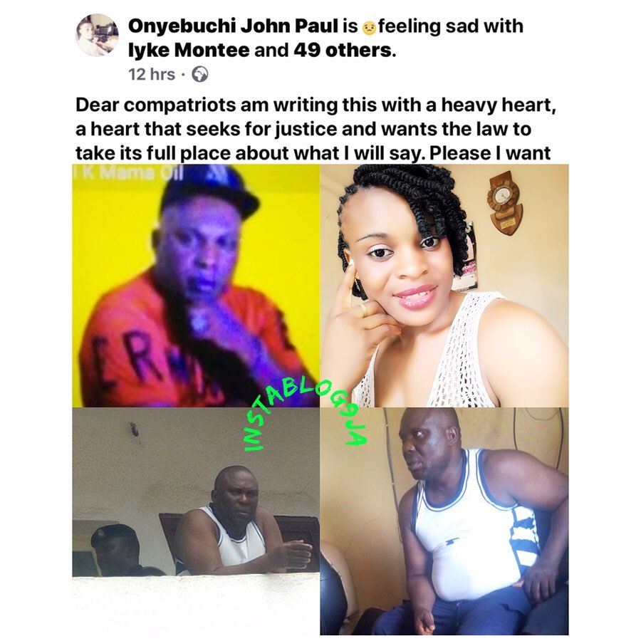 Graphic: Man cries out for justice as his pregnant sister is murdered by her husband, 3 months after wedding. [Swipe]