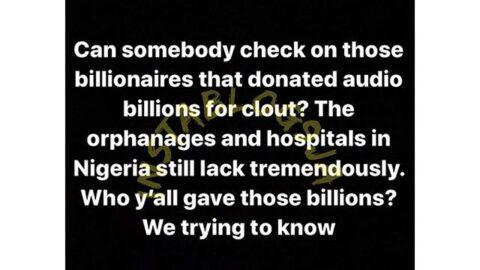 Ramoni, the billionaire Gucci master, calls out his fellow billionaires in Nigeria