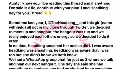 Threesome sextapes: Two Nigerian brand influencers beat a blackmailer to her game. [Swipe]