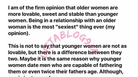 Why dating an older woman is the sexiest thing ever – Man. [Swipe]