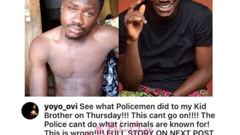 Lockdown: Man narrates how his brother was harassed by police officers in Delta State [Swipe]