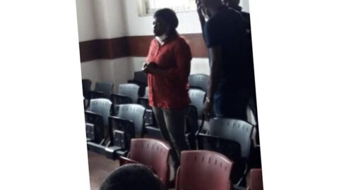 Court sentences #FunkeAkindele, husband to 14-day community service . . A Magistrate court sitting in Lagos on Monday sentenced Nollywood actress Funke Akindele and her husband Abdulrasheed Bello a.k.a JJC skills to 14 days community service each. . . The court also directed them to pay a fine of N100,000. The duo pleaded guilty to a one-count charge of hosting a gathering of 20 persons and over, contrary to the social distancing directives of the Lagos State Government. . . The actress and her husband were arraigned on Monday at the Samuel Ilori Courthouse of the Magistrate Court in Ogba, Lagos. The charge against them is made pursuant to the Regulation 8(1a &b) and S 17(1) of the State's Infectious Disease Regulation 2020.