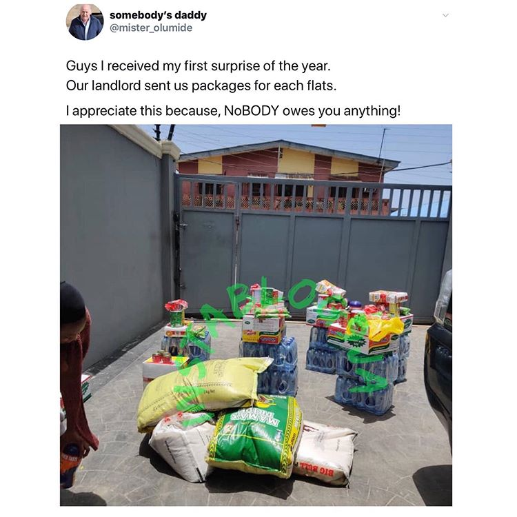 Man reveals what his landlord provided for them in #Lagos