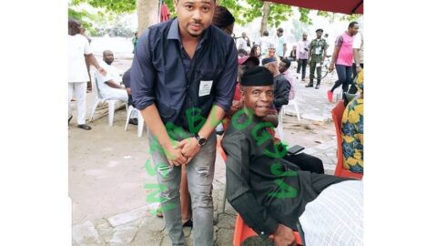 """""""I have just finished eating my last pot of soup,"""" actor Mike Godson begs VP Osinbajo. [Swipe]"""