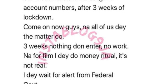 """""""I only do money ritual in movies,"""" actor Yul Edochie comes clean to beggars"""