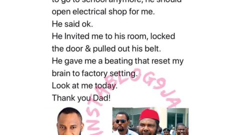 Actor Yul Edochie reveals how his dad's past decision, made him turn out good
