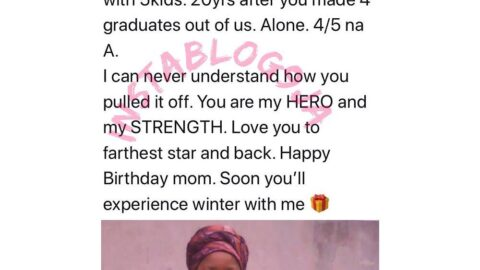 Rapper Networq celebrates his mum who single-handedly raised him and 4 siblings to graduate level