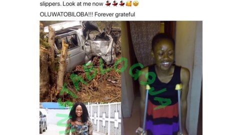 After being told she'd never walk again, accident victim shares her testimony