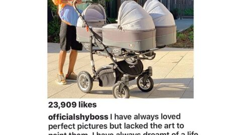 @Officialshyboss got his highest like after welcoming his triplets in the London. Congrats to him and his new family [SWIPE TO READ ALL] 1m
