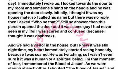 Photographer reveals how nothing but the blood of Jesus saved him from an early morning robbery attack [Swipe]