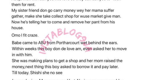 Abuja men will rush you into love so they can ask you to loan them for rent – Life Coach