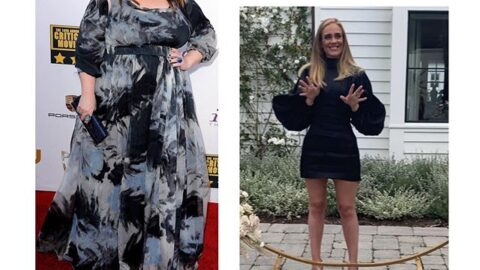 Singer Adele celebrates her 32nd birthday with her transformation picture and it's a serve!