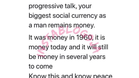 Your biggest social currency, as a man, remains money – Finance expert