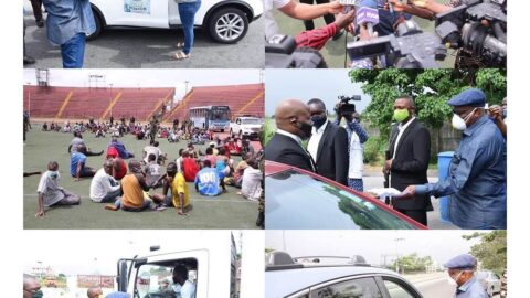 Lockdown: Scores arrested for flouting order, as Gov. Wike monitors compliance in River