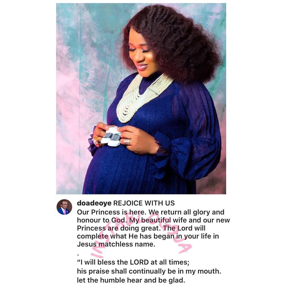 Sunmbo Adeoye and husband welcome their 2nd child together