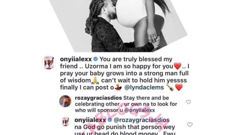 Clash of Ewus (Goats): Between actress Onyii Alexx and a follower who is averse to her congratulatory message