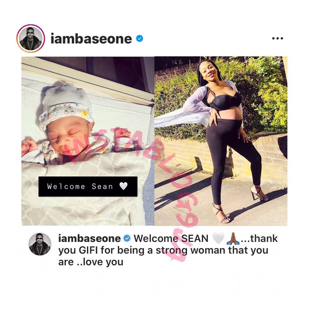 Rapper Baseone and partner welcome their first child