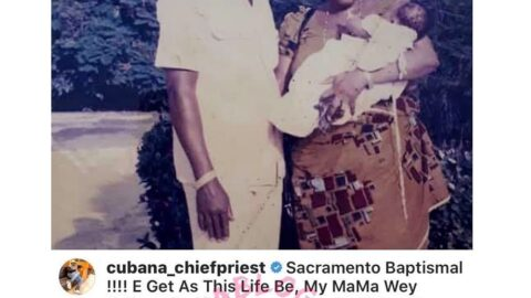 Instead of my late mom who believed in me, it's my dad who disowned me that is enjoying, Cubana barman laments