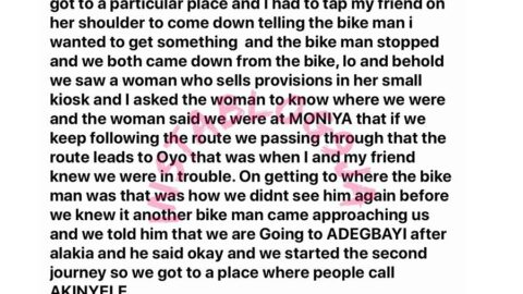 How my friend and I miraculously escaped being kidnapped in Ibadan, Oyo State – Escapee [Swipe]