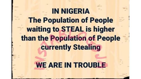 The population of Nigerians waiting to steal is higher than the population of those currently stealing — Sen. Dino Melaye