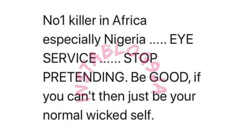 Singer Yemi Alade finally reveals the number one killer in Nigeria