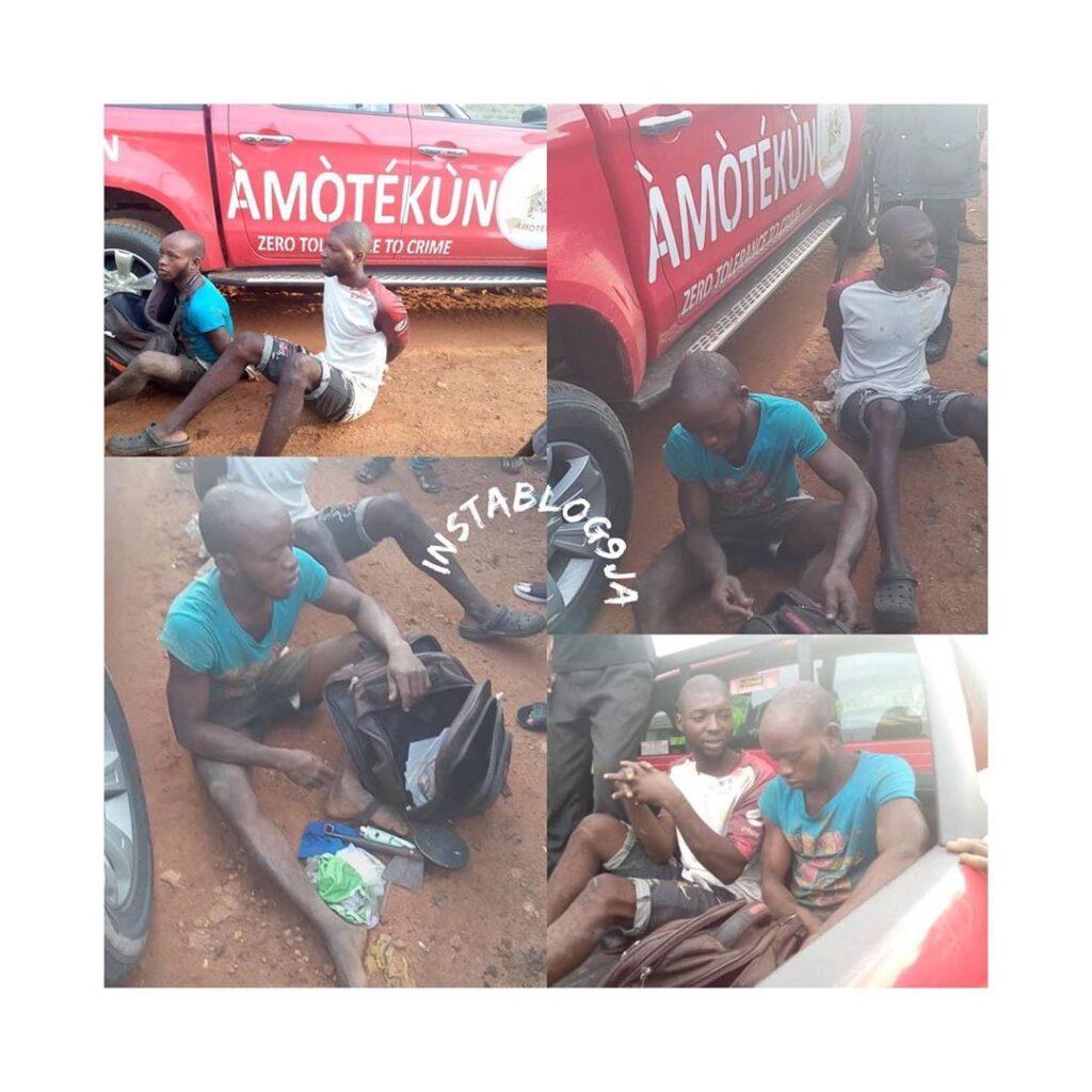 Amotekun Arrests Ritualists Who specialized In Stealing Women Underwear .