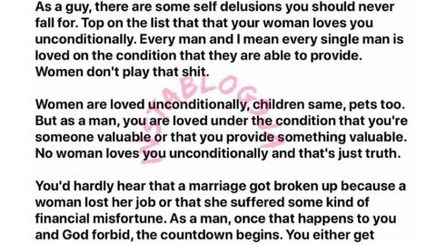 Never believe that your woman loves you unconditionally – Satirist Oluniyi [Swipe]