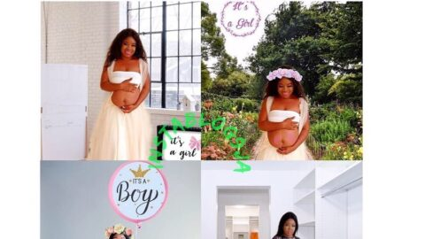 Mom-of-3 who didn't get the chance to take pregnancy photo shoots, uses her bloated tummy for it [Swipe]