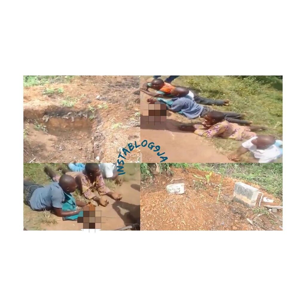 Grave diggers nabbed with 5 human heads while actively working on the 6th corpse .