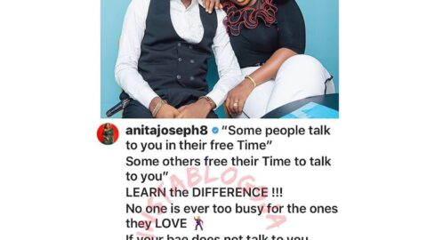 Three months after her wedding, actress Anita Joseph becomes a relationship expert