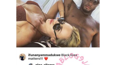 There is no color. All lives matter – Footballer Mikel Obi's partner, Olga
