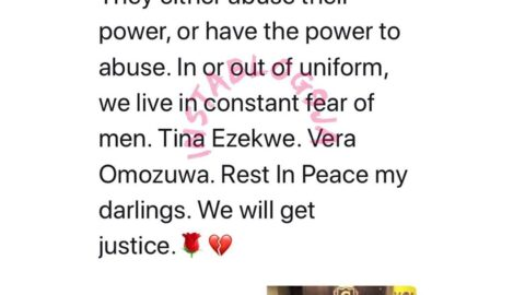 Women live in a constant fear of men – Actress Genevieve reacts to the police killing of Tina and the rape/murder of Vera