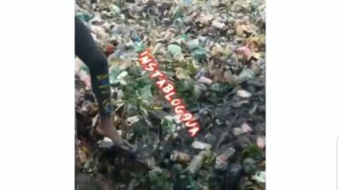 Refuse takes over many parts of Surulere after a downpour in Lagos