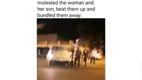 Police assault, arrest mother and son for allegedly breaking the curfew order in Abuja
