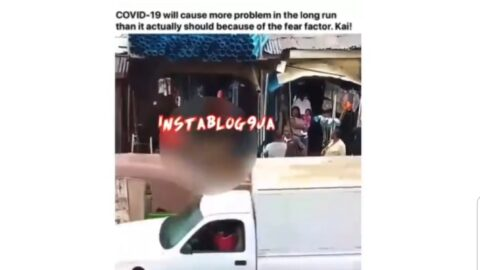 Covid-19 Scare: Man abandoned after slumping in Abuja