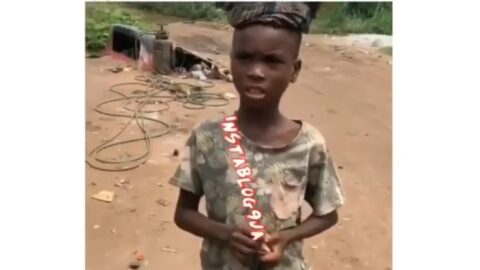 Governor of Imo State, Hope Uzodimma to adopt boy who went viral with his sonorous voice [Swipe]