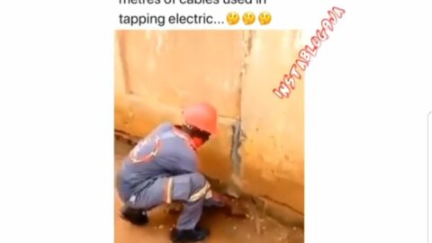 IKEDC staff uncovers over 100 meters of underground cable used for illegal connection in Lagos