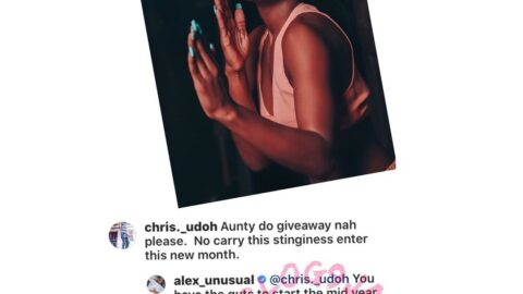 """Ex BBN contestant, Alex, clashes with one of those who """"made"""" her"""