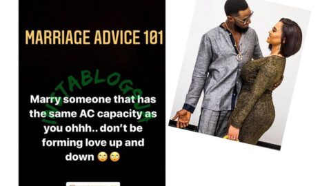 Dbanj's wife, Lineo, begins a Pre-Marriage Course for Nigerians