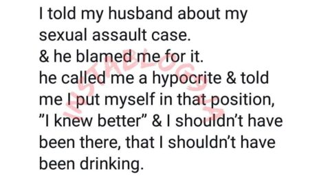 Sexual Assualt: Lady set to divorce her husband for blaming her