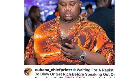 Waiting for a rapist to get rich before speaking out is an act of gold digging – Celebrity Barman [Swipe]