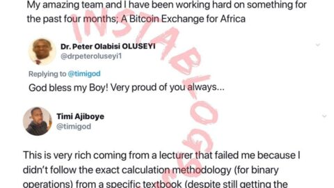 Unilag dropout blasts his former lecturer trying to famz his success