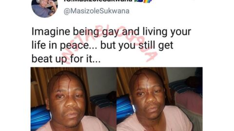 South African gay man escapes being killed by some homophobes. [Swipe]