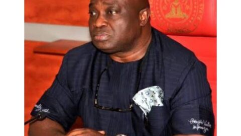 Abia Governor tests positive for COVID-19 . .