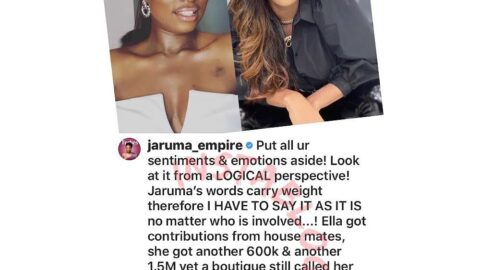 Sex therapist Jaruma, BBN ex contestants, Venita and Mercy call out Ella for allegedly being deceitful. [Swipe]