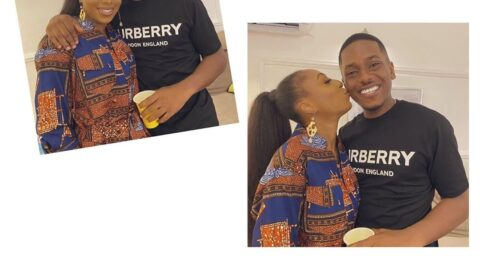 I need a sure aunt ASAP 😍. Actor Timini pauses his birthday celebration for exactly 6 min 23 secs to celebrate his #AuntyTohSure