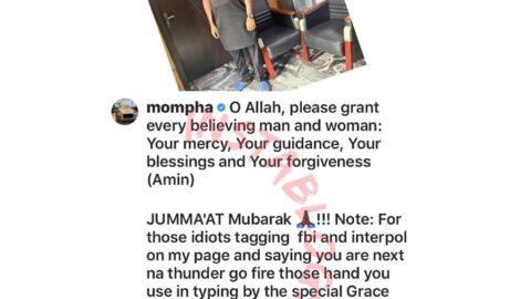 Hushpuppi's ex-bestie, Mompha, curses those drawing FBI and Interpol's attention to his page
