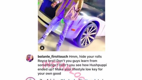 Lady warns Nigerian singer FrizJay for taking after the Gucci Billionaire step, singer replies