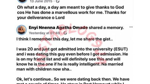 How God saved me from losing my virginity to an unserious man in 2015 — Lady [Swipe]
