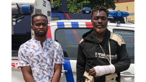 Singer Chinonso and pianist Chimelu arrested for robbery in Lagos . .